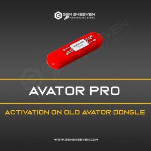 AVATOR PRO ACTIVATION ON OLD AVATOR DONGLE