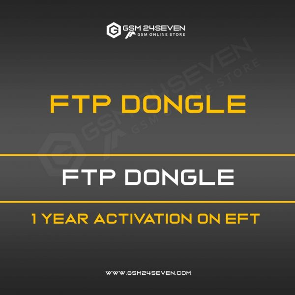 FTP DONGLE 1 YEAR ACTIVATION ON EFT