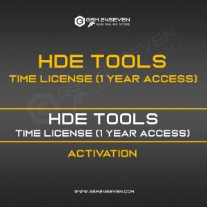 HDE TOOLS TIME LICENSE (1 YEAR ACCESS)
