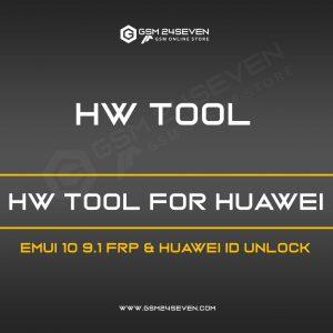 HW TOOL FOR HUAWEI EMUI 10 9.1 FRP & HUAWEI ID UNLOCK