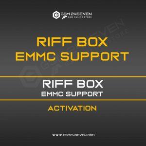 RIFF BOX EMMC SUPPORT ACTIVATION