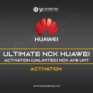 ULTIMATE NCK HUAWEI ACTIVATION(UNLIMITED) NCK AVB UMT