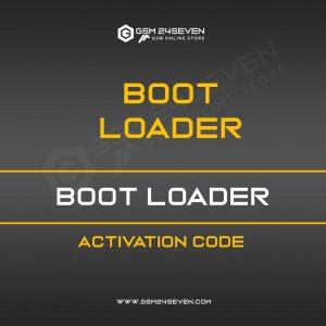 BOOT LOADER ACTIVATION CODE