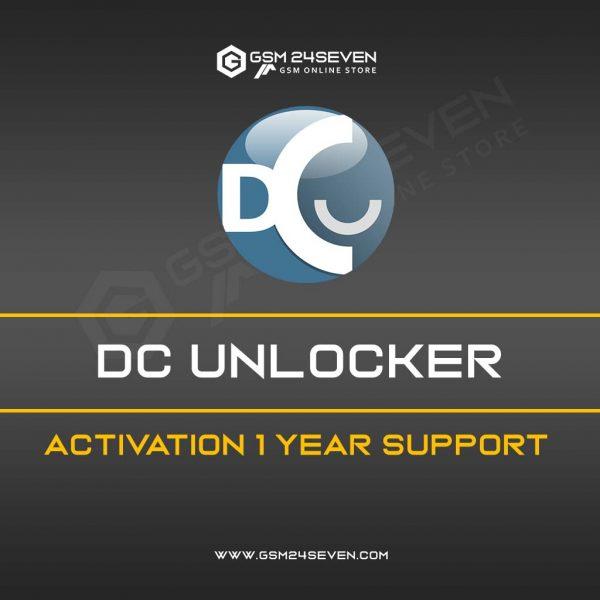DC UNLOCKER ACTIVATION 1 YEAR SUPPORT