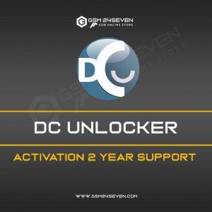 DC UNLOCKER ACTIVATION 2 YEAR SUPPORT