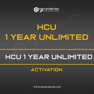 HCU 1 YEAR UNLIMITED ACTIVATION