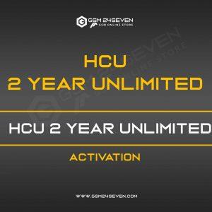 HCU 2 YEAR UNLIMITED ACTIVATION