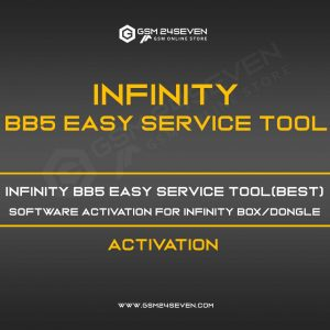 INFINITY BB5 EASY SERVICE TOOL(BEST) SOFTWARE ACTIVATION FOR INFINITY BOX/DONGLE