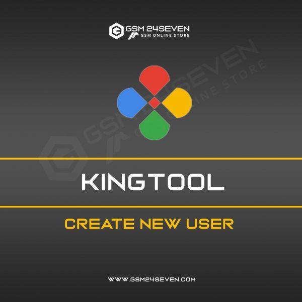KINGTOOL CREATE NEW USER