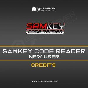 SAMKEY CODE READER NEW USER