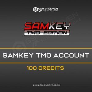 SAMKEY TMO ACCOUNT 100 CREDITS