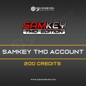 SAMKEY TMO ACCOUNT 200 CREDITS