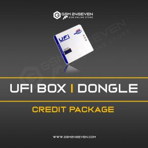 UFI BOX / DONGLE CREDIT PACKAGE