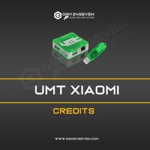 UMT XIAOMI CREDITS