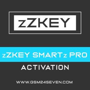 zZKEY SMARTz PRO ACTIVATION