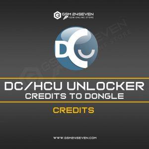 DC / HCU UNLOCKER CREDITS TO DONGLE