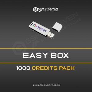 EASY BOX 1000 CREDITS PACK