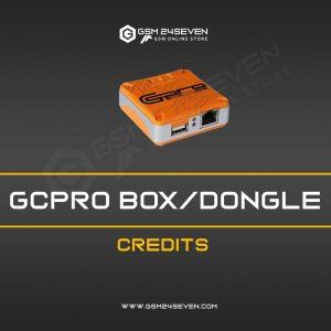 GCPRO BOX / DONGLE CREDITS