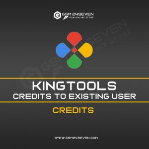 KINGTOOLS CREDITS TO EXISTING USER