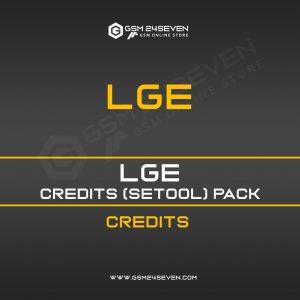 LGE CREDITS (SETOOL) PACK