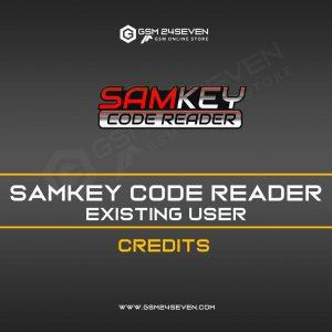 SAMKEY CODE READER EXISTING USER