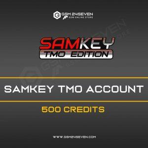 SAMKEY TMO ACCOUNT 500 CREDITS