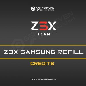 Z3X SAMSUNG REFILL CREDITS