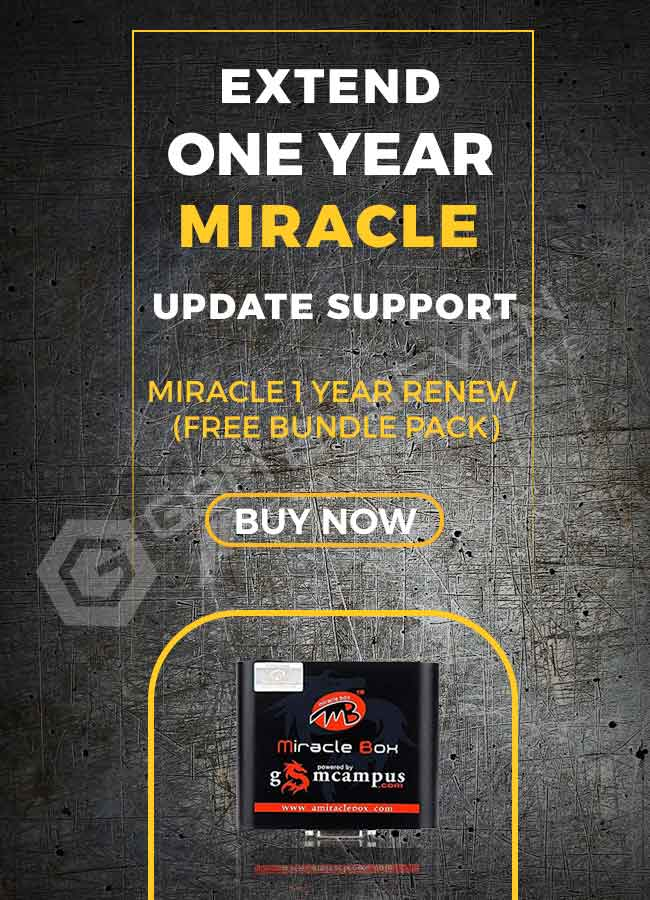 MIRACLE 1 YEAR RENEW