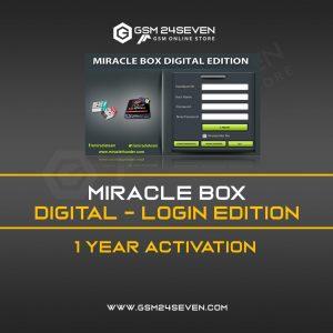 MIRACLE BOX DIGITAL – LOGIN EDITION